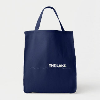 The Lake Minnetonka - boat tote Grocery Tote Bag