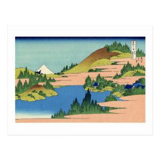 The Lake of Hakone in Sagami Province Postcard
