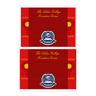 The Lakes College Foundation Dinner table resv Stationery