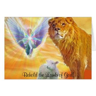 The Lamb of God! Card