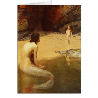 The Land Baby, John Collier, 1909 Card
