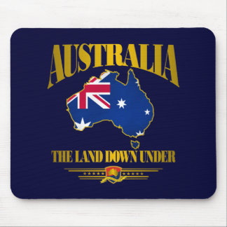"""""""The Land Down Under"""" Mouse Pad"""