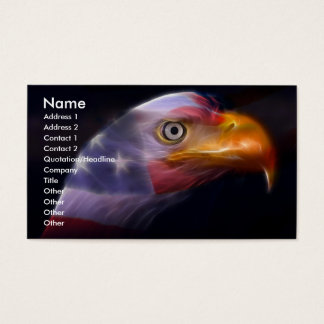 The Land of the Free, Home of the Brave Business Card