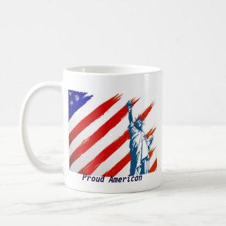 The Land Of The Free!  Basic White Mug