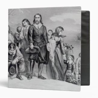 The Landing of the Pilgrims Vinyl Binders