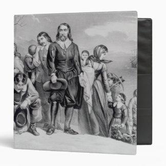 The Landing of the Pilgrims Vinyl Binders
