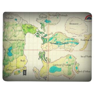 The Lands of Omorbia Pocket Notebook Journal