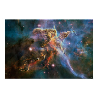 The Landscape of Carina Poster