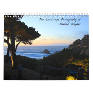The Landscape Photography of Michael Snyder Wall Calendar