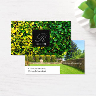 The Landscaper Business Card