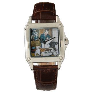 The Lantern Painter Craftsman Vintage Old Japan Wrist Watches