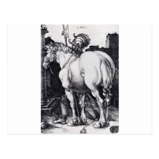 The Large Horse by Albrecht Durer Postcard