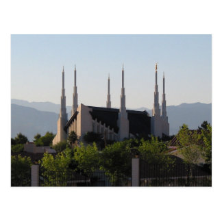 The Las Vegas Nevada LDS Temple Postcard