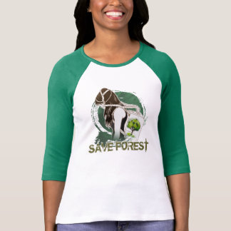 The Last Breath on Earth(SAVE THE FOREST) T-Shirt