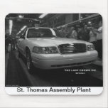 The Last Crown Vic Mouse Pad