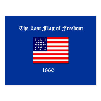 The Last Flag of Freedom Postcard