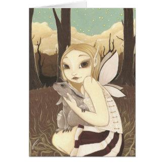 The Last Jackalope - Fairy Card