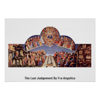 The Last Judgement By Fra Angelico Poster