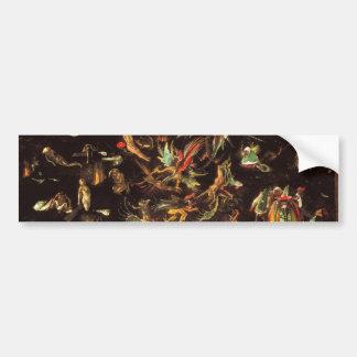 The Last Judgement by Hieronymus Bosch Bumper Sticker