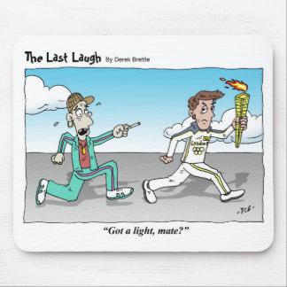 The Last Laugh - cartoon mousemat Mouse Pad
