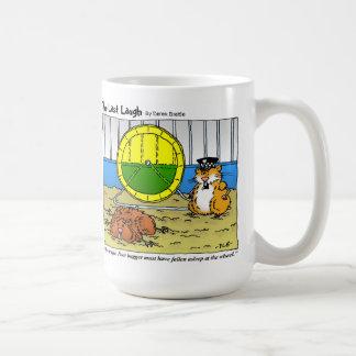 The Last Laugh - Fallen Asleep At The Wheel Coffee Mug