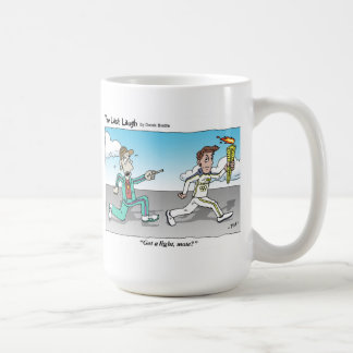 The Last Laugh - Got A Light, Mate? Classic White Coffee Mug