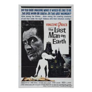 """The Last Man on Earth"" (1964) Movie Poster"