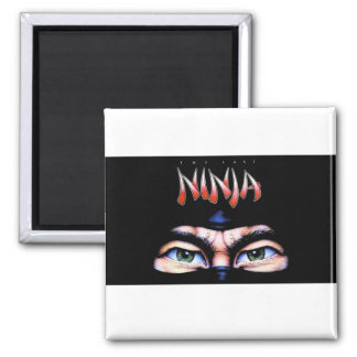 The Last Ninja Square Magnet