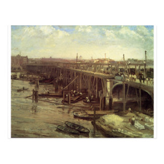 The Last of Old Westminster James McNeill Whistler Postcard