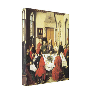 The Last Supper, 1464-67 Gallery Wrapped Canvas