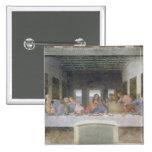 The Last Supper, 1495-97 2 2 Inch Square Button