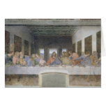 The Last Supper, 1495-97 2 Greeting Card