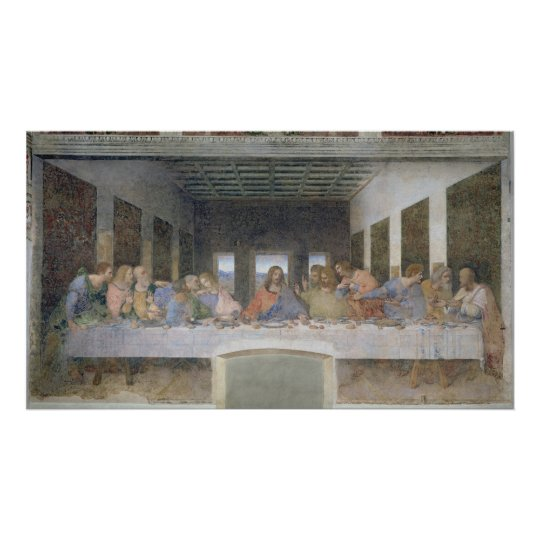 The Last Supper, 1495-97 2 Poster