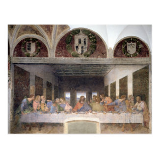 The Last Supper, 1495-97 3 Postcard