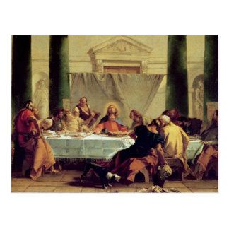 The Last Supper, 1745-50 Postcard