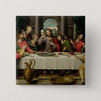 The Last Supper 5 2 Inch Square Button