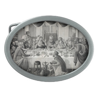 The Last Supper Belt Buckle
