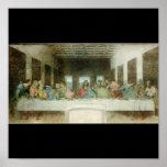 The Last Supper by Leonardo Da Vinci c. 1495-1498 Poster