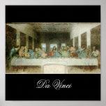 The Last Supper by Leonardo Da Vinci c. 1495-1498 Print