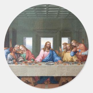 The Last Supper by Leonardo da Vinci Classic Round Sticker