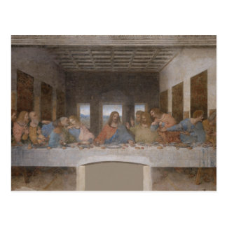 The Last Supper by Leonardo da Vinci Postcard