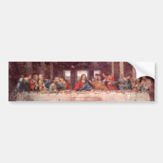 The Last Supper by Leonardo da Vinci, Renaissance Bumper Sticker