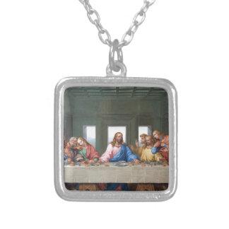 The Last Supper by Leonardo da Vinci Silver Plated Necklace