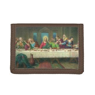 The Last Supper by Leonardo da Vinci Trifold Wallets