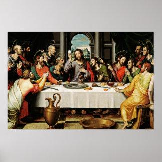 The Last Supper Eucharist - La Ultima Cena Poster