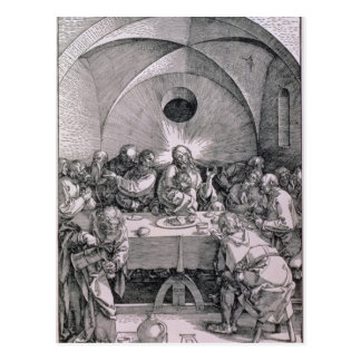 The Last Supper from the 'Great Passion' Postcard