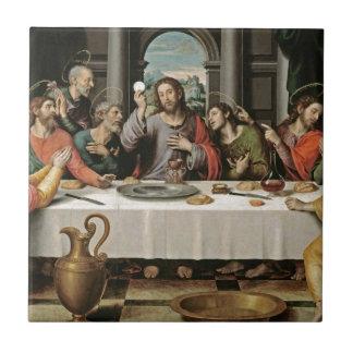 The Last Supper Juan de Juanes Tile