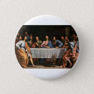 The Last Supper Painting 2 Inch Round Button