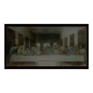 The Last Supper Vintage Poster