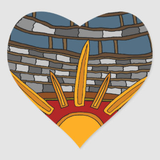 The Last Treasure House Heart Sticker
